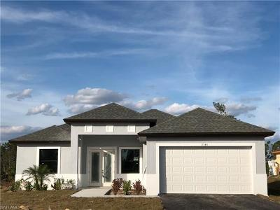 Collier County, Lee County Single Family Home For Sale: 2565 29th Ave NE