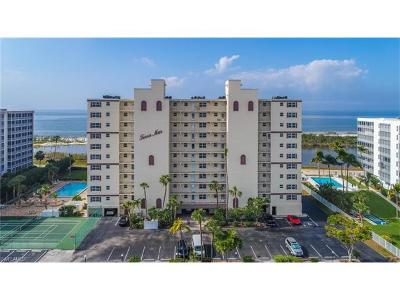 Fort Myers Beach Condo/Townhouse Pending With Contingencies: 7100 Estero Blvd #501