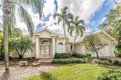 Naples Single Family Home For Sale: 4660 Turnstone Ct