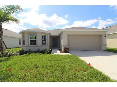 Lee County Single Family Home For Sale: 1347 NW 14th Pl