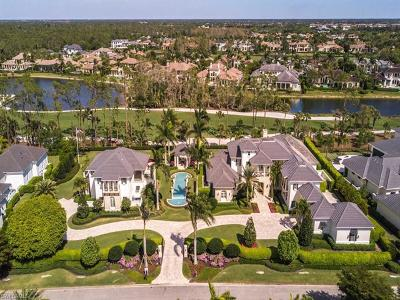 Naples FL Single Family Home For Sale: $9,995,000