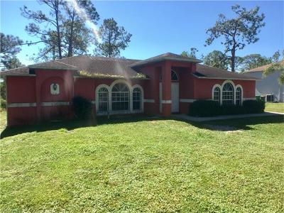 Collier County, Lee County Single Family Home For Sale: 2972 37th Ave NE