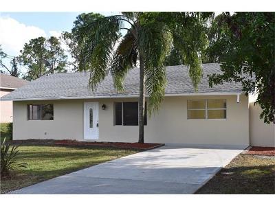 Lehigh Acres Single Family Home For Sale: 4307 1st St SW