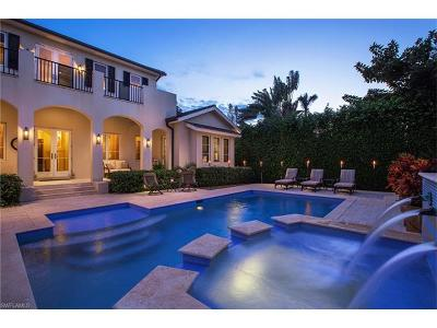 Naples FL Single Family Home For Sale: $3,250,000