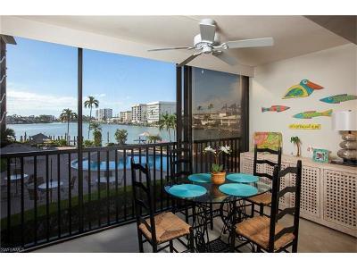 Naples Condo/Townhouse For Sale: 222 Harbour Dr #205