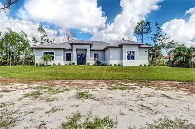 Naples Single Family Home For Sale: 836 14th St SE