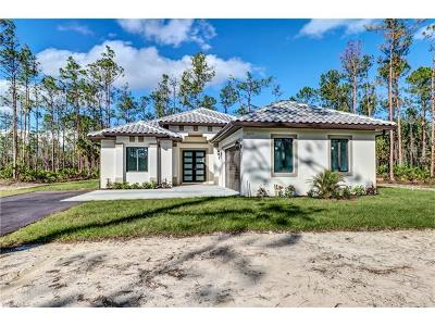Collier County, Lee County Single Family Home For Sale: 3625 8th Ave NE