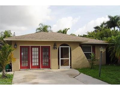 Naples Single Family Home For Sale: 724 108th Ave N