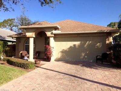 Naples Single Family Home For Sale: 743 98th Ave N