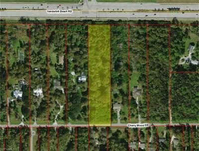 Naples Residential Lots & Land For Sale: 5245 Cherry Wood Dr