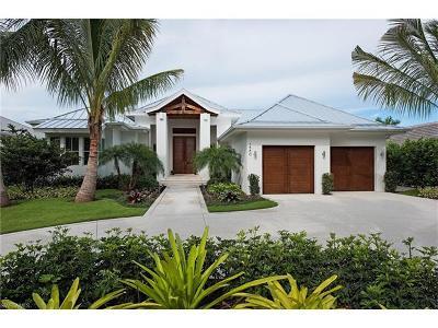 Naples FL Single Family Home For Sale: $2,700,000