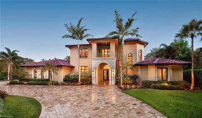 Naples FL Single Family Home For Sale: $2,495,000