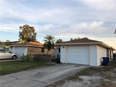 Fort Myers Multi Family Home For Sale: 7396/7400 Pebble Beach Rd