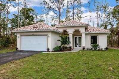 Naples Single Family Home For Sale: 3461 60th Ave NE