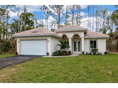 Naples Single Family Home For Sale: 2518 54th Ave NE