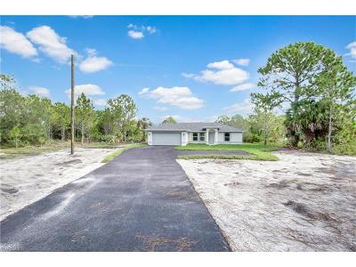 Naples Single Family Home For Sale: 3493 54th Ave NE