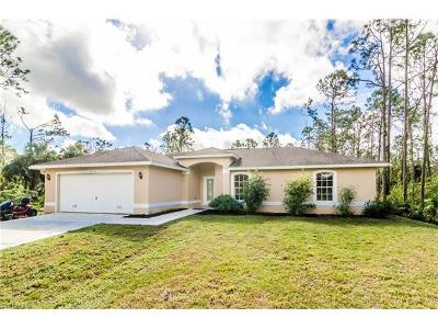 Naples FL Single Family Home For Sale: $254,000