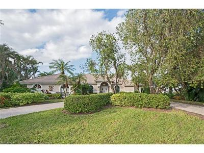 Naples Single Family Home Pending With Contingencies: 1021 Oriole Cir #63