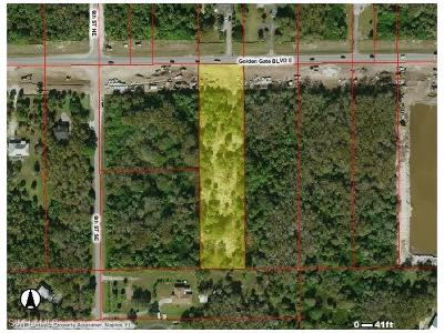 Collier County Residential Lots & Land For Sale: 660 Golden Gate Blvd E