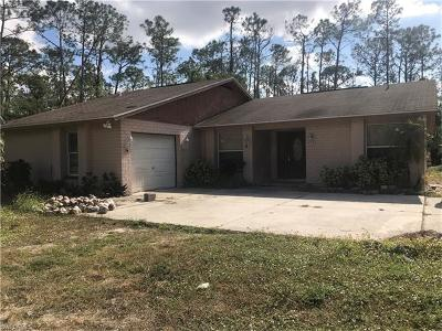 Naples Single Family Home For Sale: 5380 Coral Wood Dr
