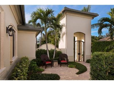 Naples Single Family Home Pending With Contingencies: 28606 La Caille Dr
