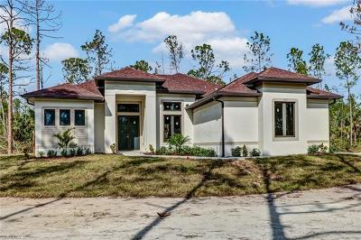 Naples Single Family Home For Sale: 3525 6th Ave NE