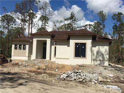 Naples Single Family Home Pending With Contingencies: 3529 6th Ave NE