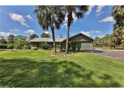 Naples Single Family Home For Sale: 411 8th St NE