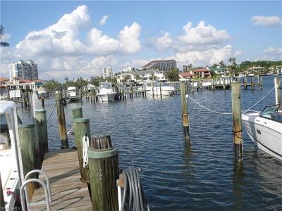 Naples Boat Slip For Sale: 4680 Gulf Shore Blvd N