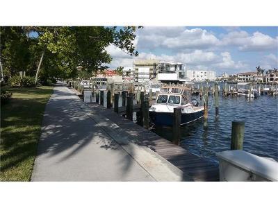 Naples Boat Slip For Sale: 4090 Gulf Shore Blvd N