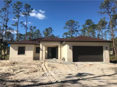 Naples Single Family Home For Sale: 4361 12th St NE
