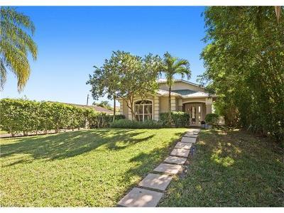 Naples Single Family Home For Sale: 1332 Ridge St