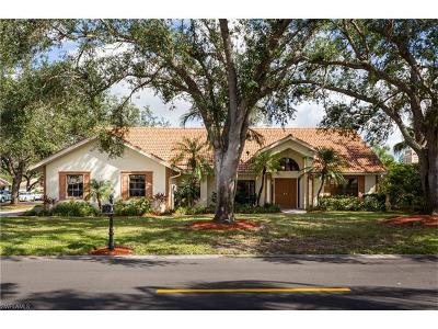 Naples Single Family Home For Sale: 210 Monterey Dr