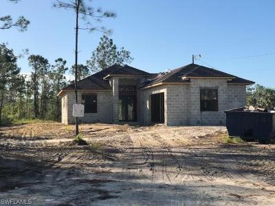 Collier County, Lee County Single Family Home For Sale: 2762 12th Ave NE