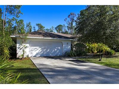 Bonita Springs Single Family Home Pending With Contingencies: 24065 Claire St