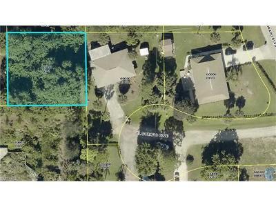 Bonita Springs Residential Lots & Land For Sale: 23436 Coconut Rum Ct