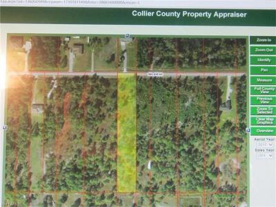 Collier County Residential Lots & Land For Sale: 00 50th Ave NE