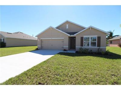 Collier County, Lee County Single Family Home For Sale: 607 NW 13th St