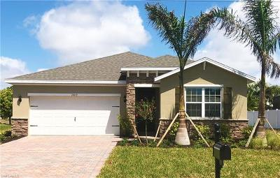 Collier County, Lee County Single Family Home For Sale: 1809 SW 27th Ter