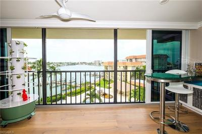 Naples Condo/Townhouse For Sale: 222 Harbour Dr #506