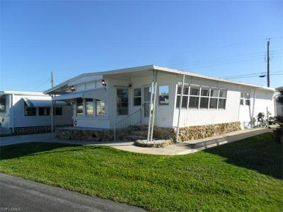 Estero Mobile/Manufactured For Sale: 20741 Port Dr