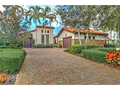 Naples Single Family Home For Sale: 16715 Pistoia Way
