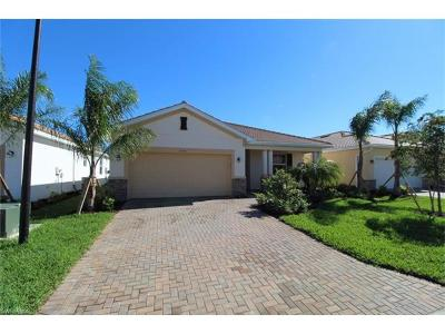 Collier County, Lee County Single Family Home For Sale: 10365 Fontanella Dr
