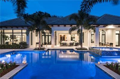 Naples FL Single Family Home For Sale: $5,495,000