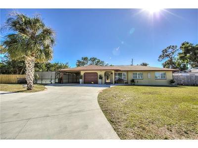 Fort Myers Single Family Home For Sale: 18025 Constitution Cir