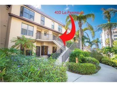 Naples Condo/Townhouse For Sale: 410 La Peninsula Blvd #410