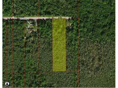 Collier County Residential Lots & Land For Sale: 4900 30th Ave SE