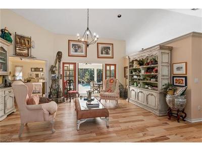 Naples Single Family Home For Sale: 209 Palmetto Dunes Cir