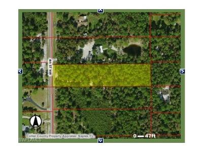 Collier County Residential Lots & Land For Sale: 4th St NW