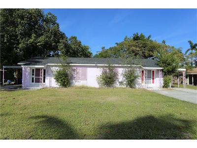 Goodland, Marco Island, Naples, Fort Myers, Lee Multi Family Home For Sale: 1915/1917 Llewellyn Dr
